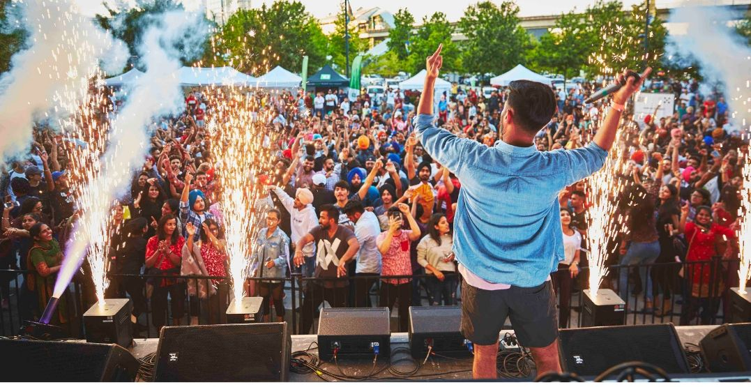 There's a huge 5-day South Asian festival happening around Metro Vancouver this month