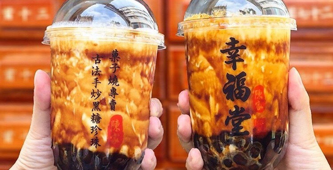 A new Taiwanese bubble tea spot just opened in downtown Vancouver