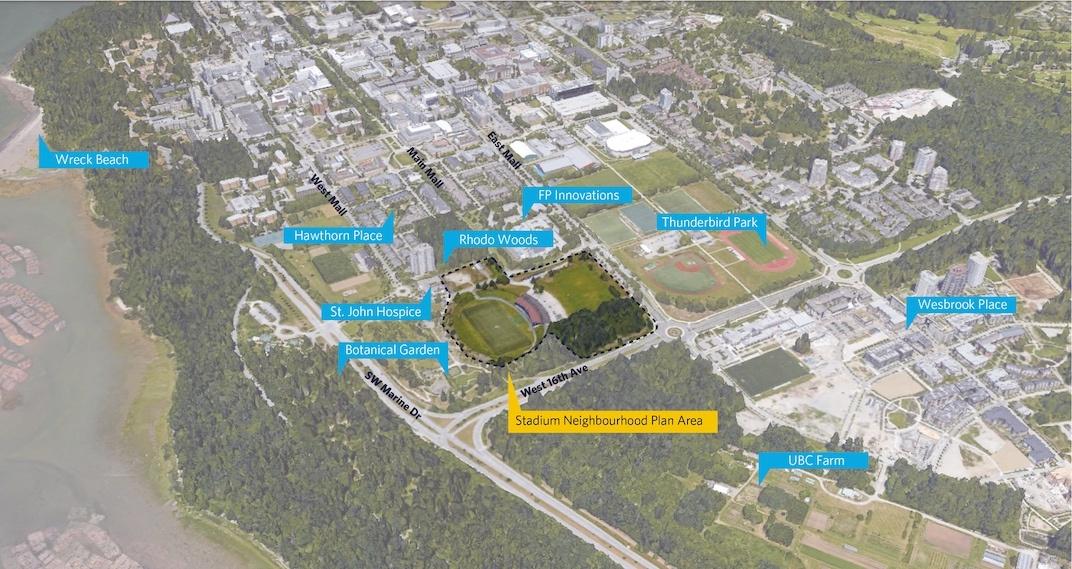 UBC Stadium Neighbourhood