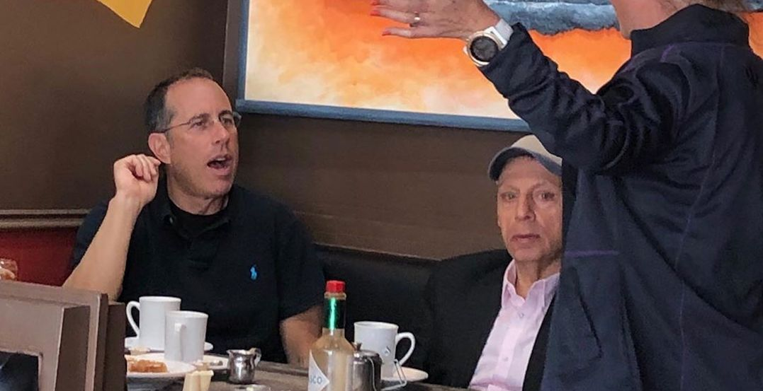 Jerry Seinfeld was spotted at this cafe just outside Toronto