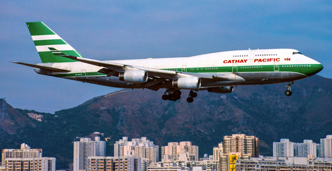 Kai Tak Cathay Pacific Hong Kong