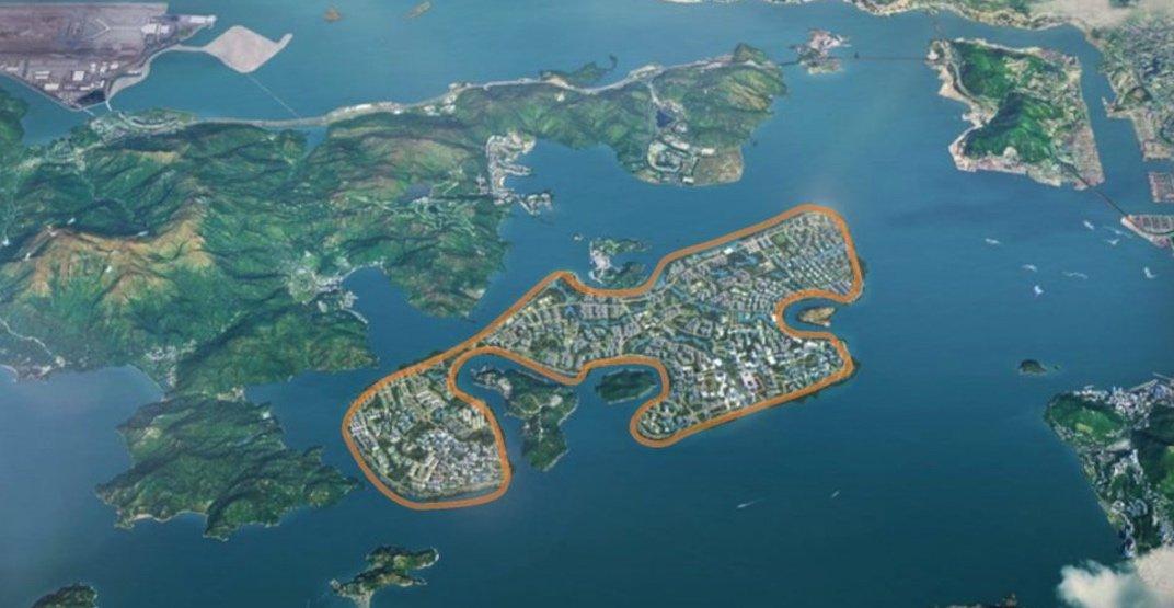 Hong Kong new islands