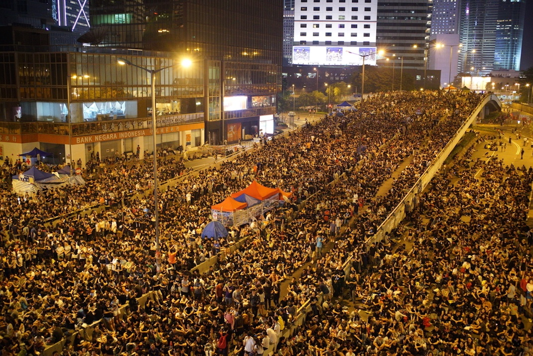 Umbrella Revolution Hong Kong