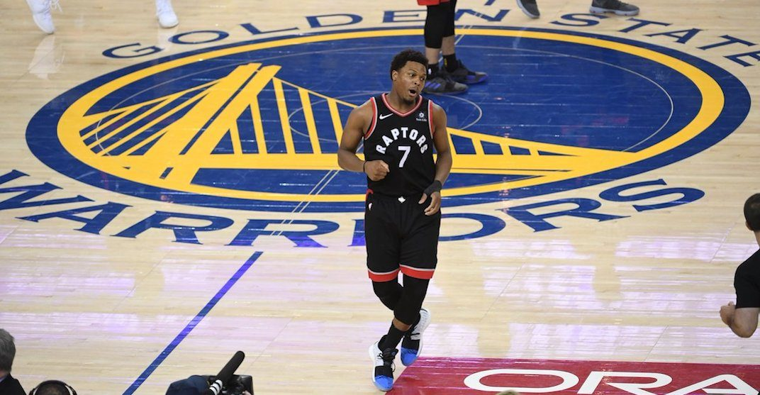 Golden State fan ejected from Game 3 of NBA Finals after shoving Kyle Lowry (VIDEO)