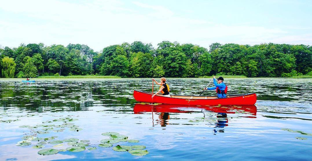 You can paddle through Canada's only urban national park for free June 15