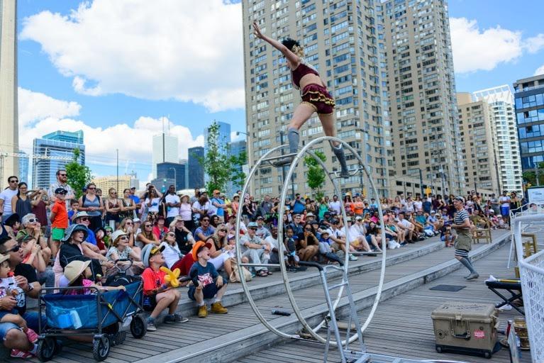 waterfront festival entertainment
