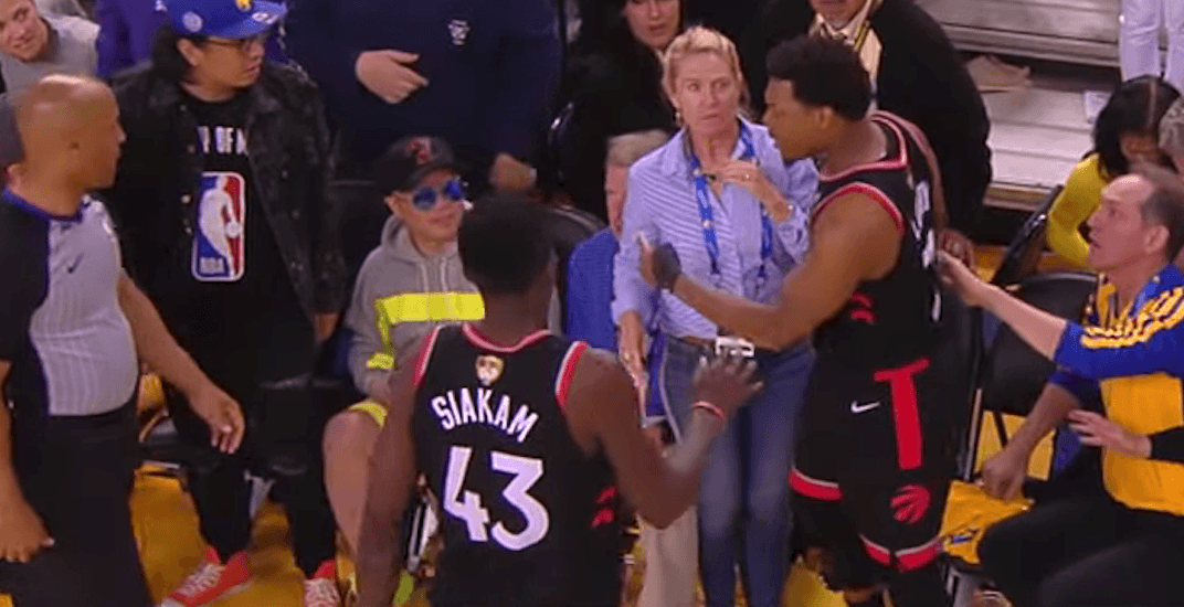 Warriors owner push lowry