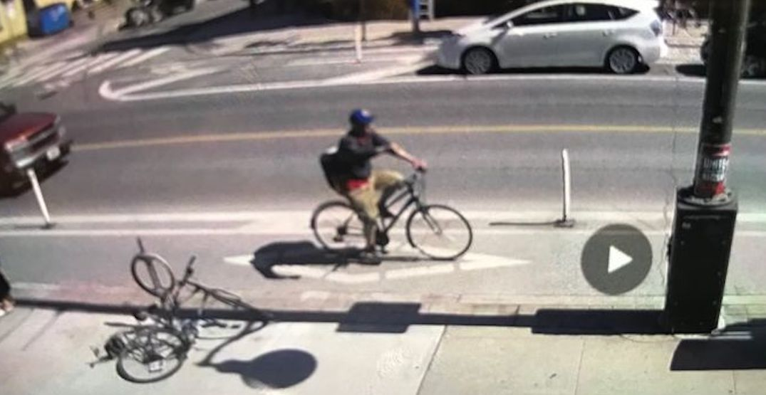 Cyclist wanted for throwing corrosive substance at family with baby: police