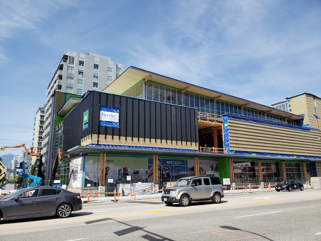 MEC Vancouver Olympic Village store
