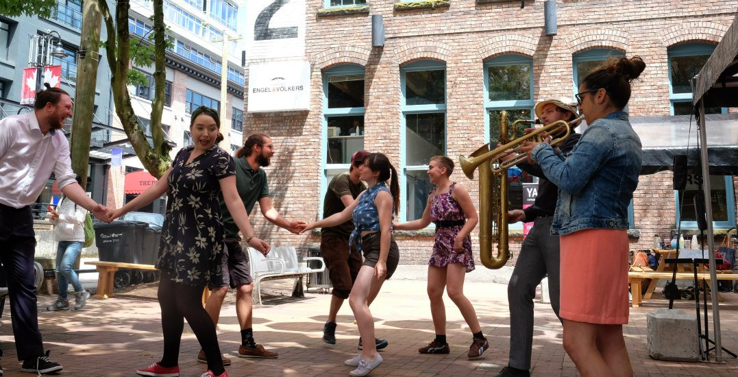 Yaletown is heating up with a FREE 5-day summer jazz festival