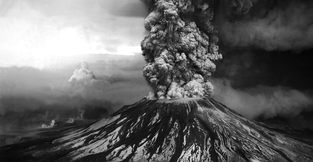 """I thought the Russians bombed Seattle:"" Mount St. Helens eruption from Vancouver"