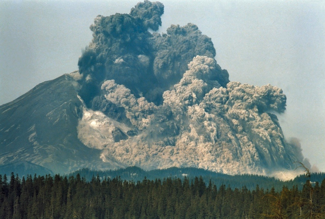Mount St. Helens volcano