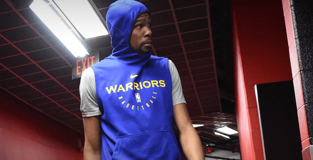 Durant returns to Warriors practice and could play vs Raptors in Game 5