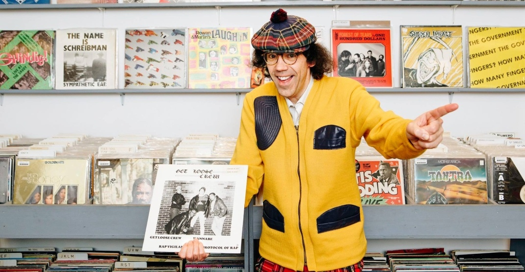 Celebrity interviewer Nardwuar inducted into BC's Hall of Fame