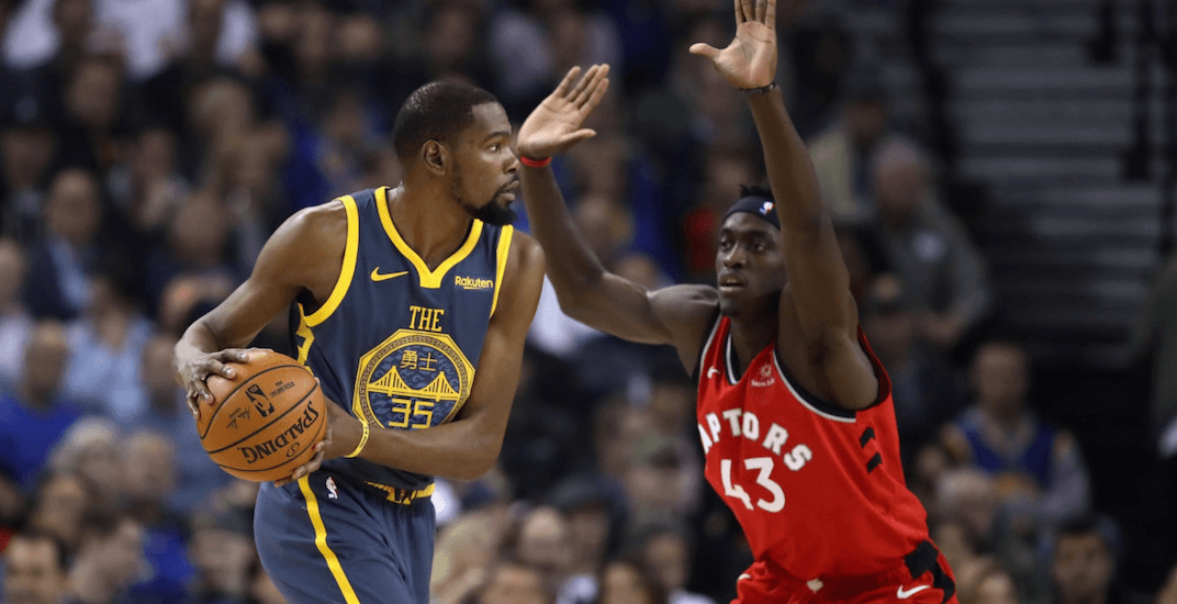 2cf58a7521a Warriors expect Kevin Durant to play in Game 5 vs the Raptors ...
