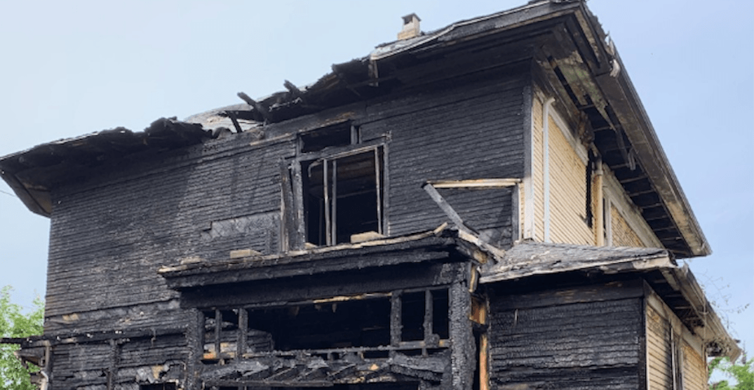 Empty 1904 Vancouver character home listed for almost $2M destroyed by fire
