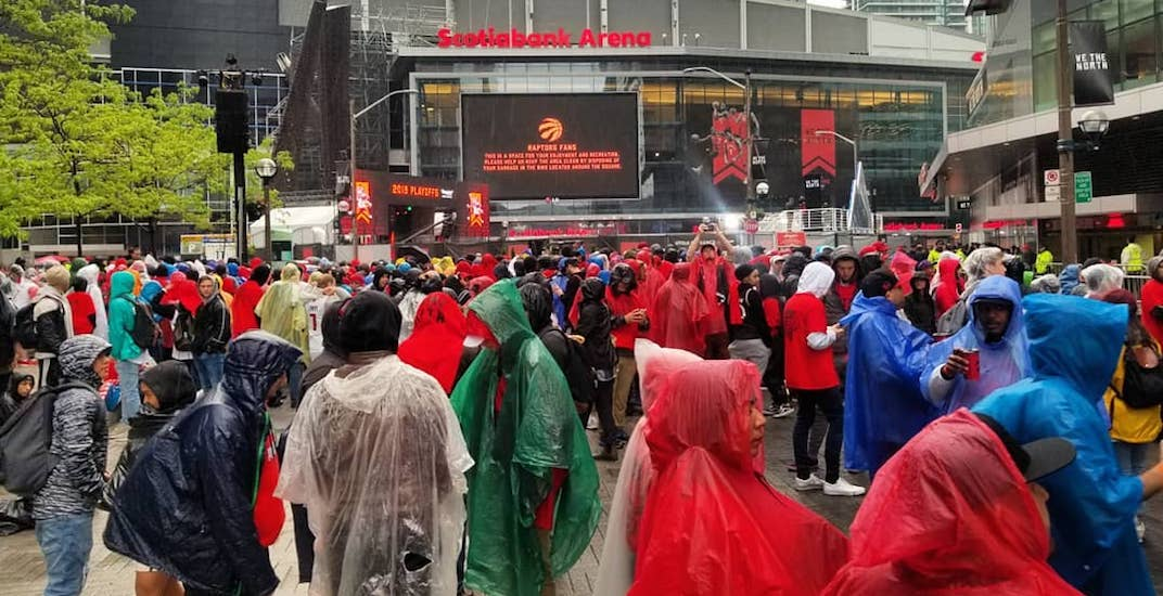 Jurassic Park is already almost full for tonight's Raptors game