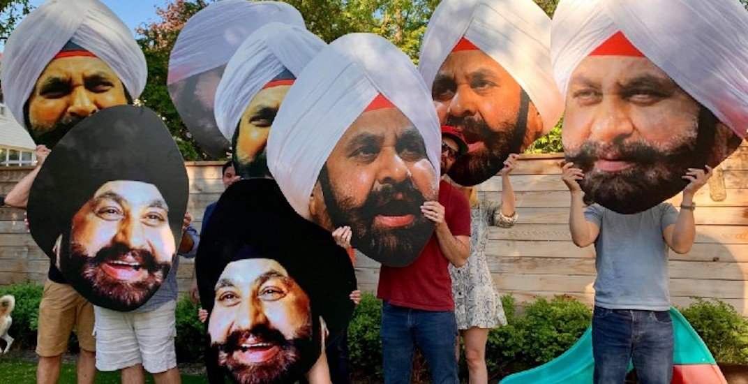 You'll see Raptors Superfan Nav Bhatia giant heads in Jurassic Park tonight