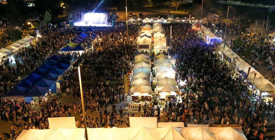 This massive night market is hosting a celeb basketball game