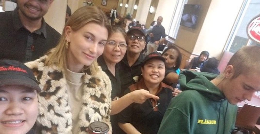 Hailey Bieber just proved she loves Tim Hortons more than most Canadians (PHOTO)