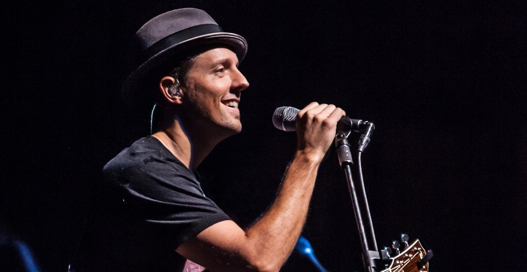 Win tickets to see Jason Mraz at the Queen Elizabeth Theatre (CONTEST)