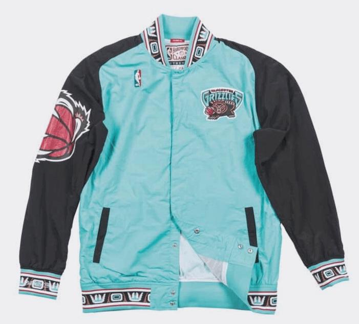 vancouver grizzlies jacket