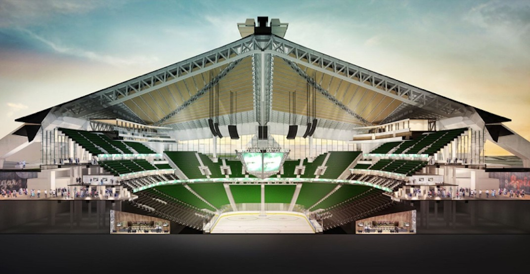 Construction well underway on $930M rebuild of Seattle Center Arena (RENDERINGS)