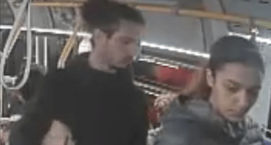 Two men and a woman sought by police following shooting on-board TTC bus