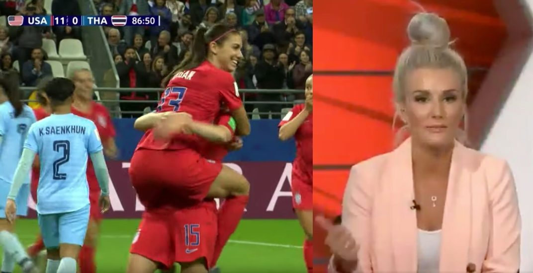 Former Canadian national team players blast USA for showboating in Women's World Cup blowout (VIDEO)
