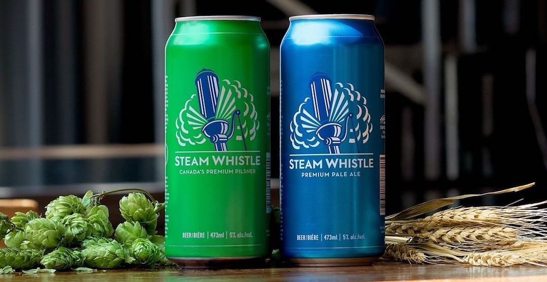 Steam Whistle Brewing just launched a brand new beer