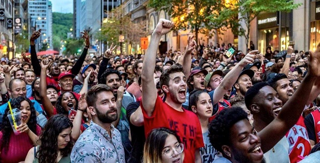 Peel Street will be closed off tomorrow for a Raptors Game 6 viewing party