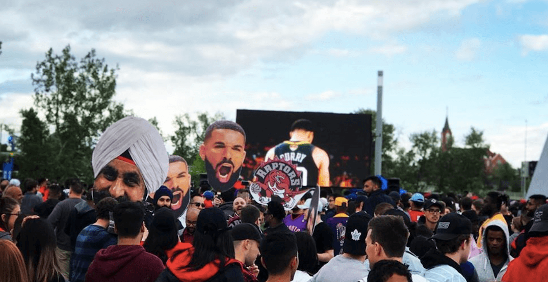 YYC's FREE outdoor Raptors viewing party will be back for Game 6