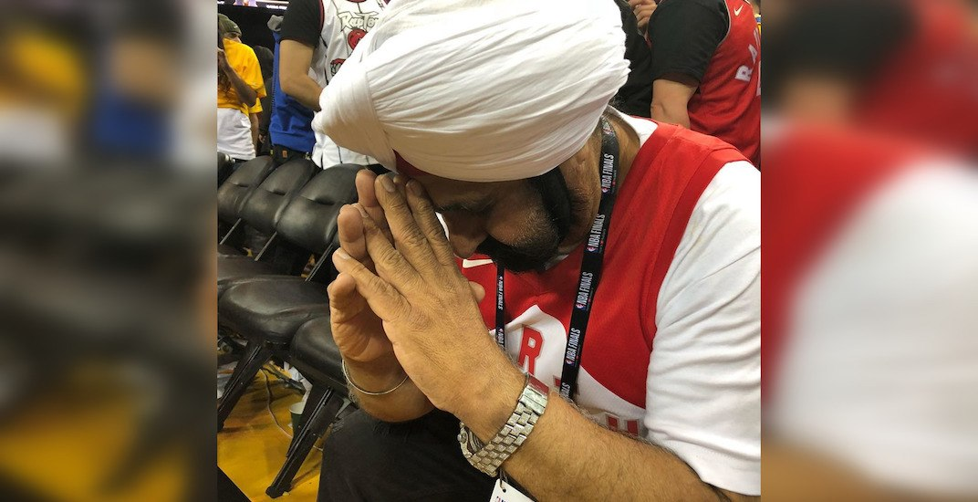 Superfan Nav Bhatia says Raptors fans acted 'un-Canadian' in inspirational video