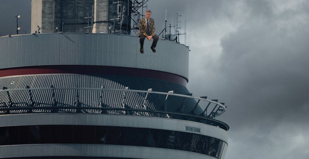 John Tory hilariously replaces Drake on iconic album cover ahead of Raptors game (PHOTO)