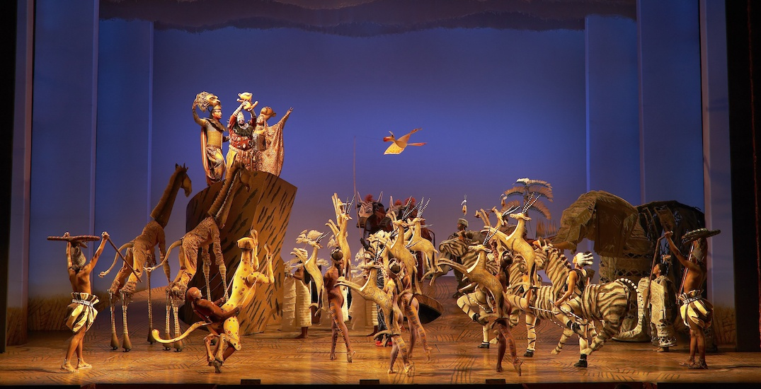 Popular theatrical production of Disney's The Lion King returns to Toronto