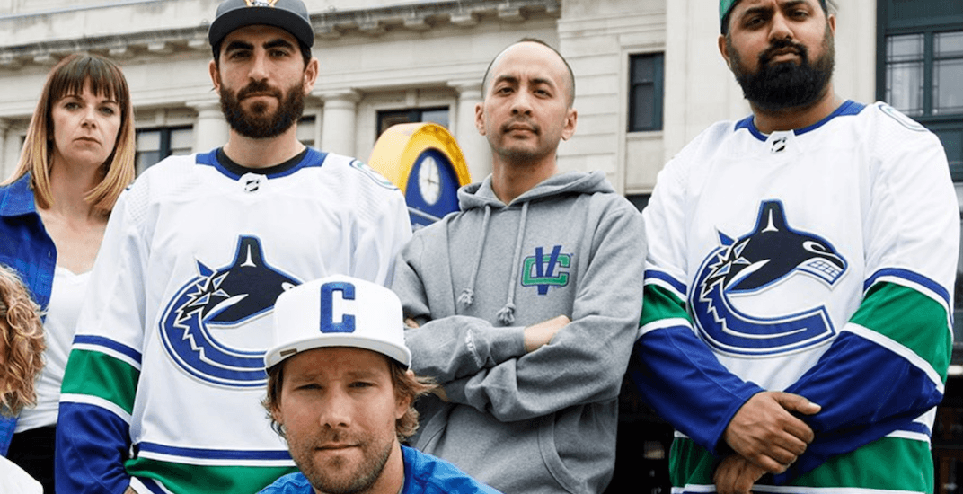 Canucks unveil 3 new jerseys they'll begin wearing next season (PHOTOS)