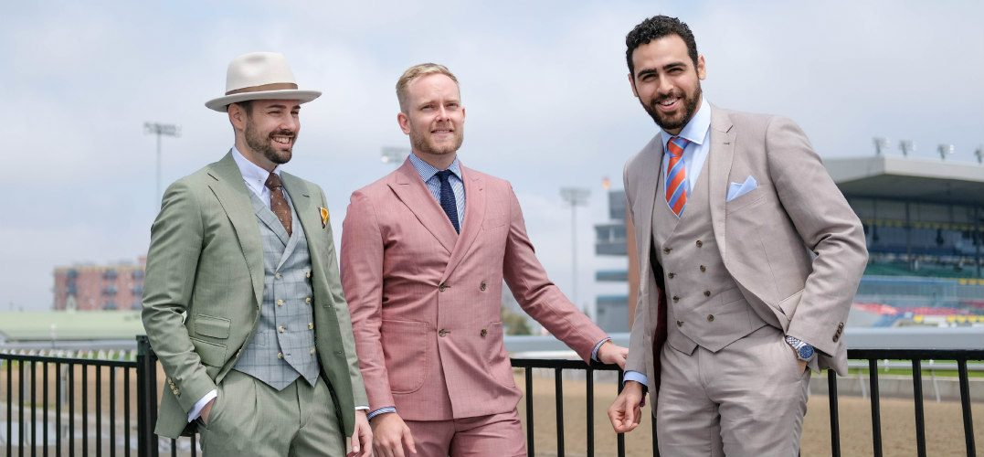 Get a FREE ticket to The Deighton Cup when you buy a custom suit at Indochino