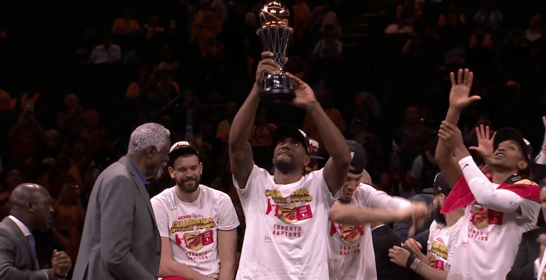 Raptors star Kawhi Leonard named 2019 NBA Finals MVP
