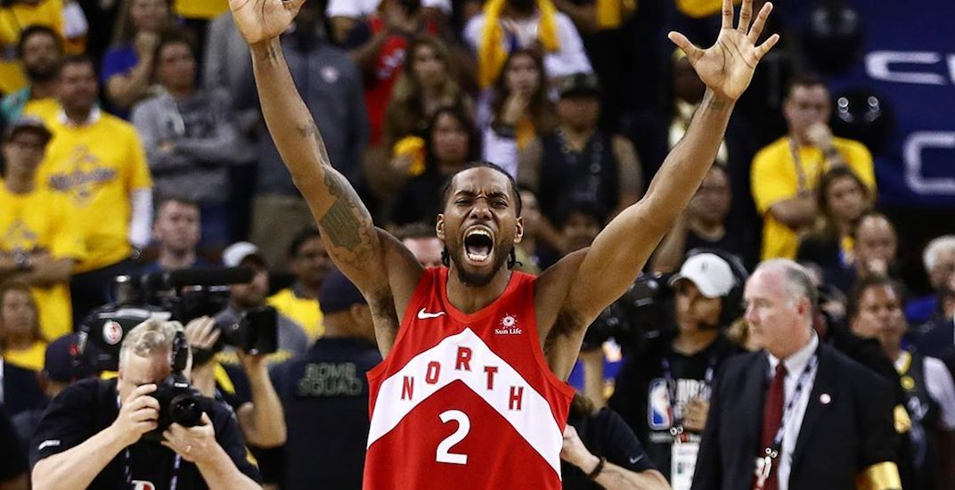 Kawhi Leonard just had one of the greatest playoff performances of all-time