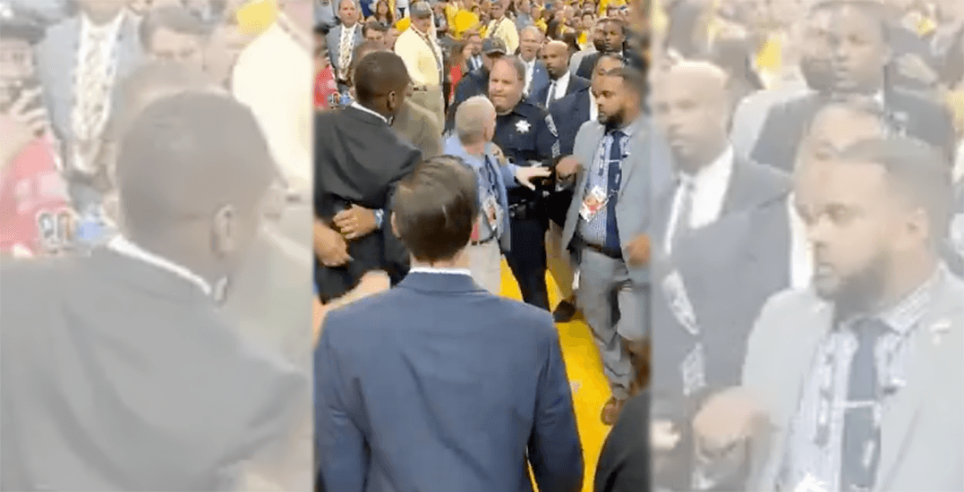 Officer alleging Masai Ujiri assaulted him could press charges: report