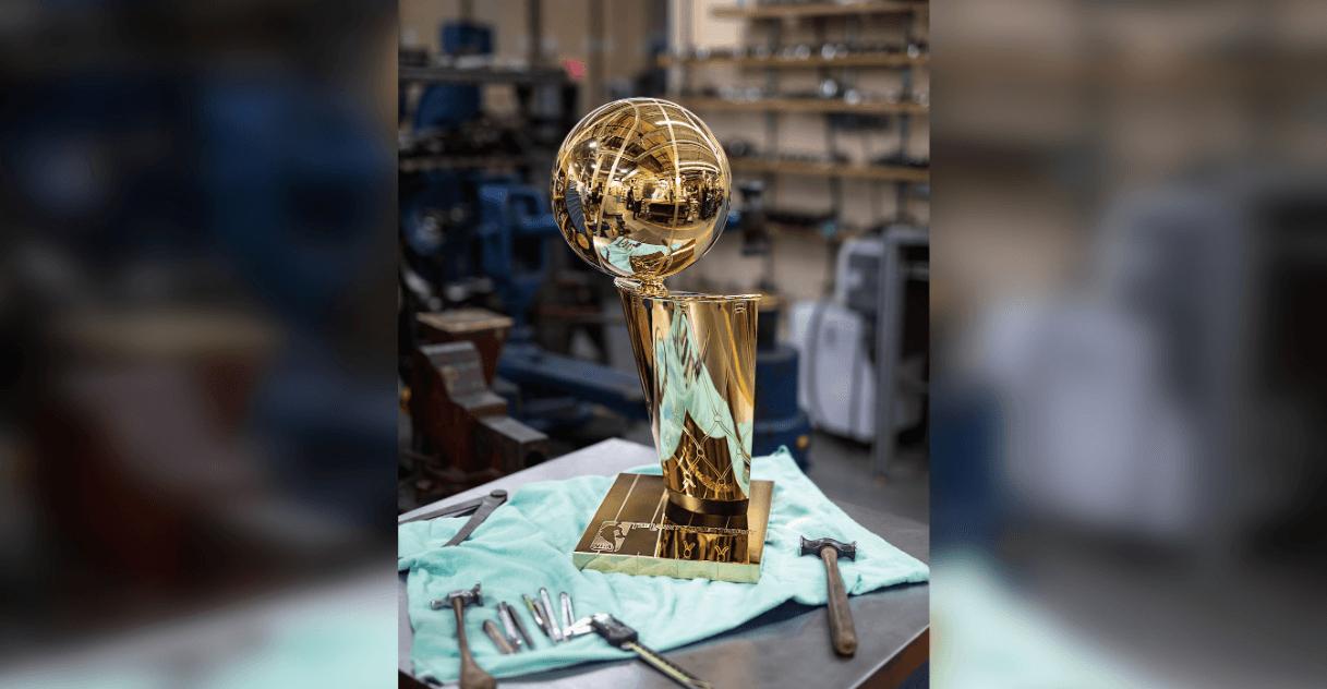 A closer look at the Raptors' Larry O'Brien Championship Trophy (PHOTOS)