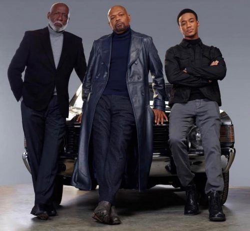 Shaft: Richard Roundtree, Samuel L. Jackson, Jessie. T. Usher