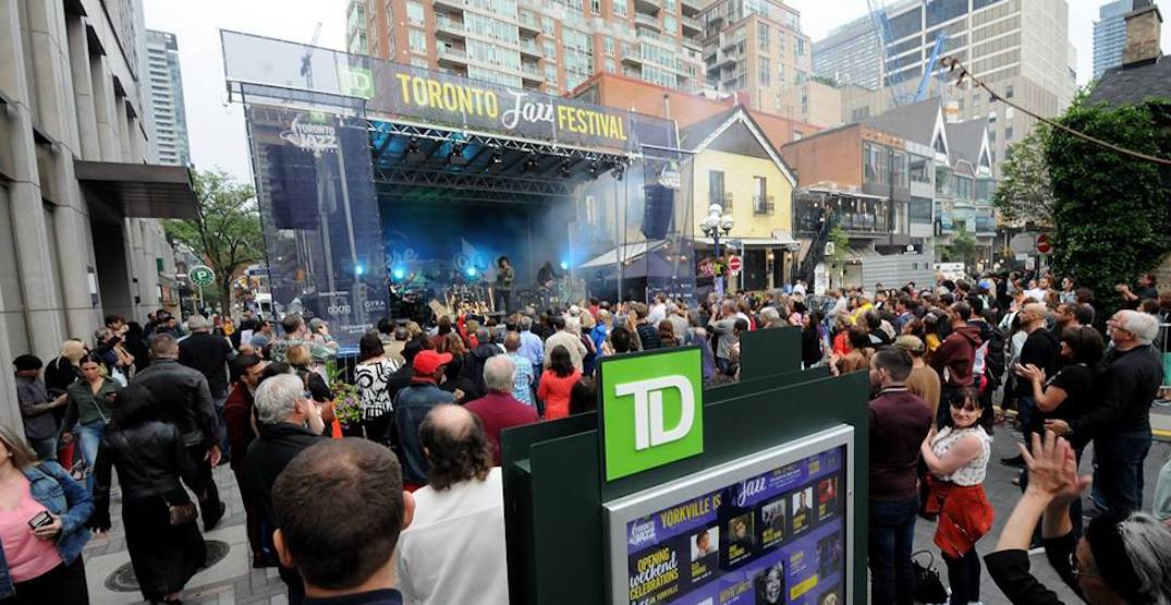 There's a free jazz block party in Toronto this weekend