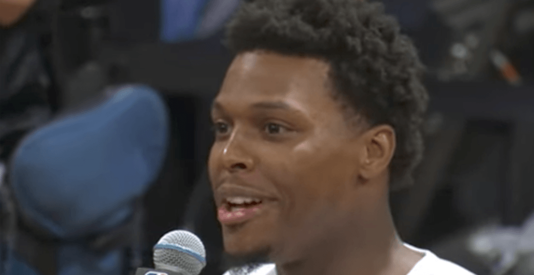 Lowry interrupts VanVleet's postgame press conference with question of his own (VIDEO)