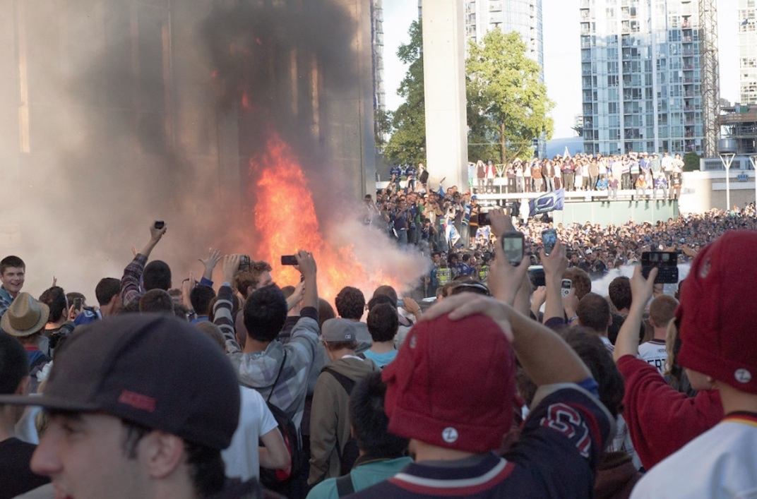Stanley Cup Riot 2011 Vancouver