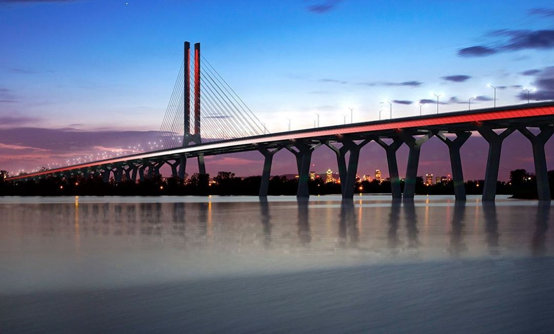 The New Champlain Bridge's official opening date has been announced