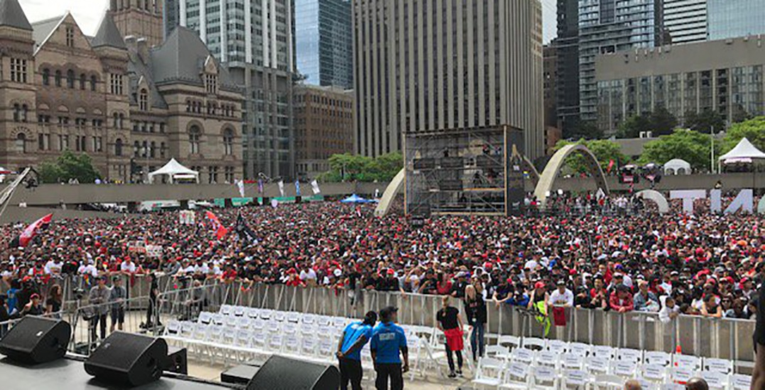 City announces Nathan Phillips Square is at max capacity