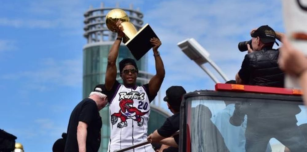 Here's what Toronto looked like during the Raptors NBA Championship parade
