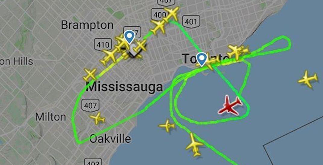 Air drake route