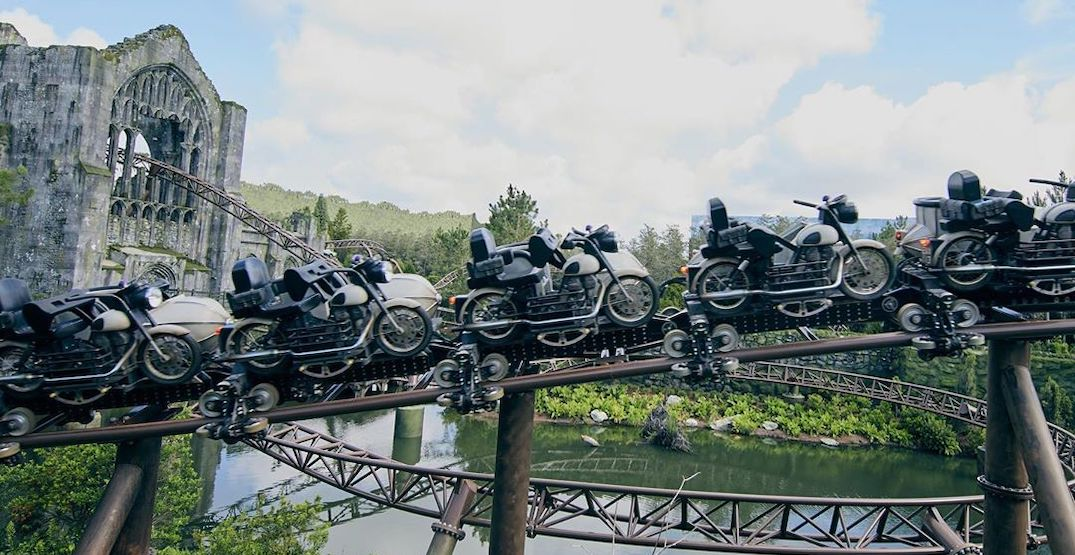 Fans waited 10 hours for new Hagrid-themed roller coaster and they aren't even mad about it